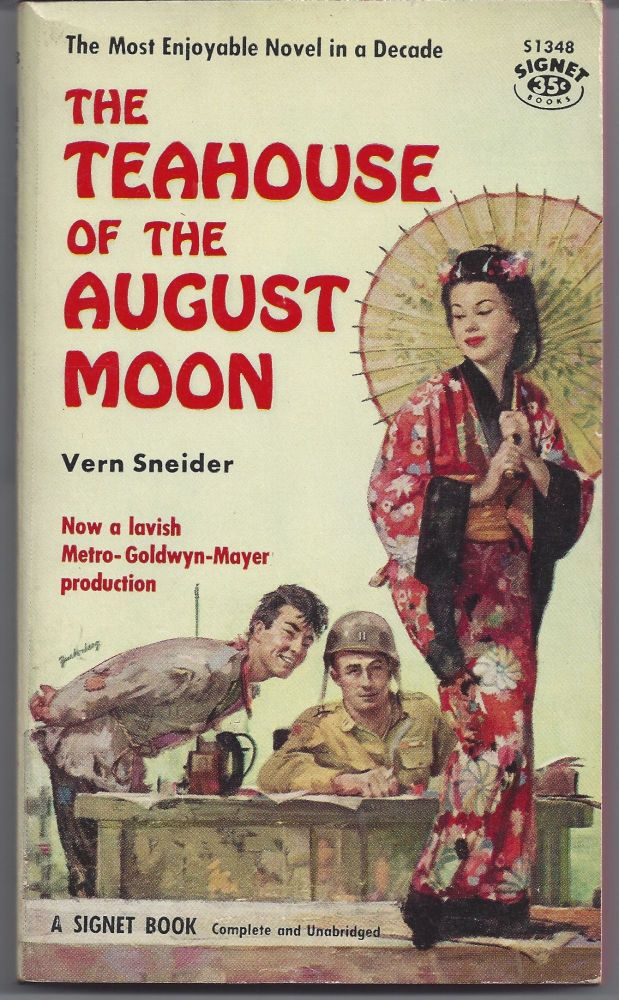 The Teahouse of the August Moon. Vern Sneider.