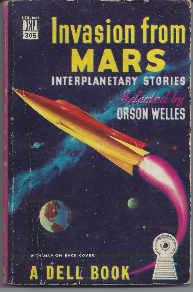 Invasion From Mars (Dell Map Back). Orson Welles.