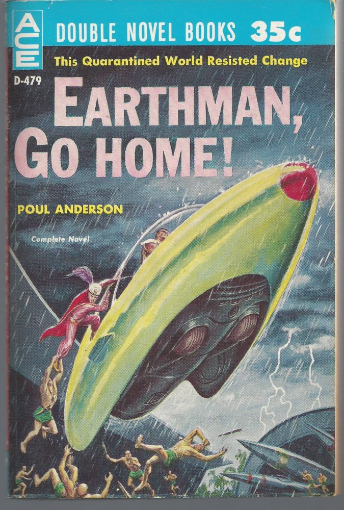 Earthman Go Home / To The Tombaugh Station. Poul / Wilson Tucker Anderson.