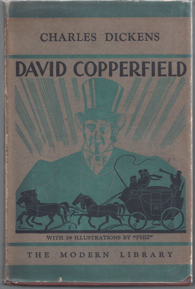 David Copperfield - Modern Library 110. Charles Dickens.