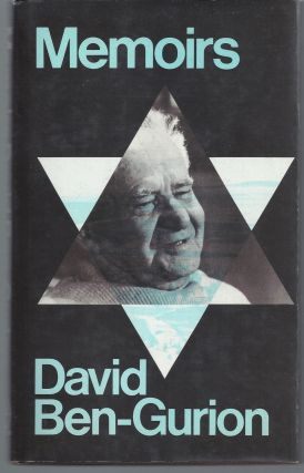 Memoirs. David Ben Gurion