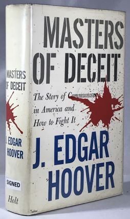 Masters of Deceit. J. Edgar Hoover
