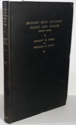 Modern First Editions: Points and Values (Second Series