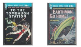 Earthman Go Home, To The Tombaugh Station. Poul Anderson, Wilson Tucker