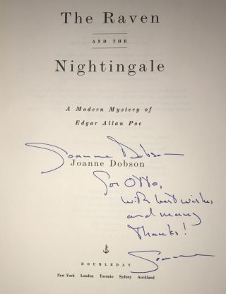 The Raven and the Nightingale (Association Copy from the Personal Collection of Otto Penzler)