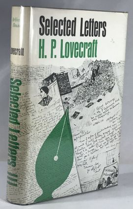 Selected Letters III H.P. Lovecraft. H. P. Lovecraft