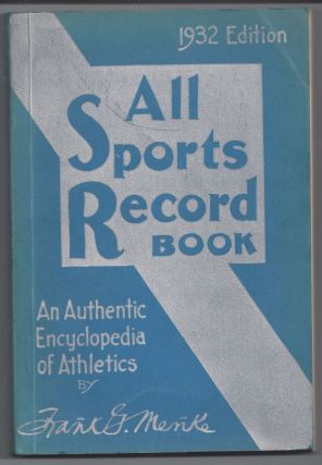 All Sports Record Book. Frank Menke