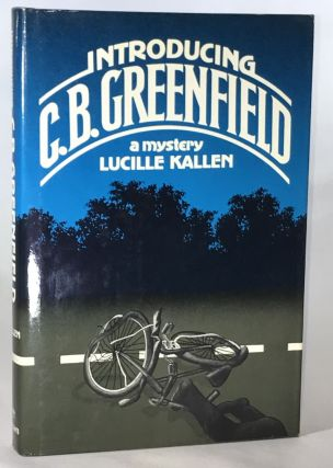 Introducing C.B. Greenfield (Association Copy from the Personal Collection of Otto Penzler