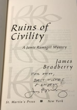 Ruins of Civility (Association Copy from the Personal Collection of Otto Penzler)