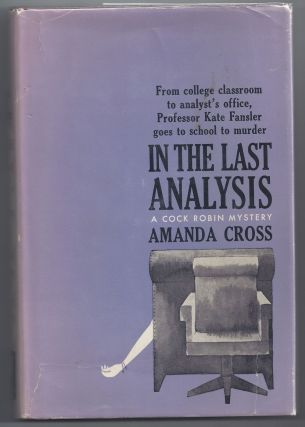 In The Last Analysis. Amanda Cross