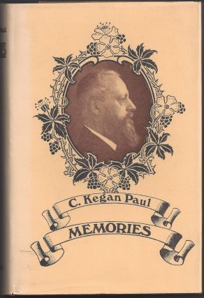 Memories. C. Kegan Paul