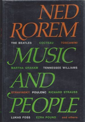 Music and People. Ned Rorem