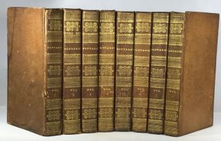 Plutarch's Lives - 8 Volumes Complete. Lucius Mestrius - John Plutarchus, William Langhorne