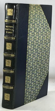 The Poetical Works of John Milton - Riviere Binding. John Milton