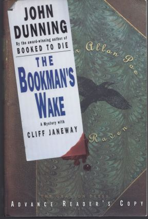 The Bookman's Wake - Advanced Reading Copy. John Dunning
