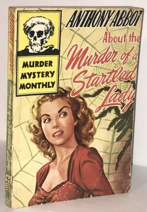 About the Murder of a Startled Lady - Avon Murder Mystery Monthly #25. Anthony Abbot