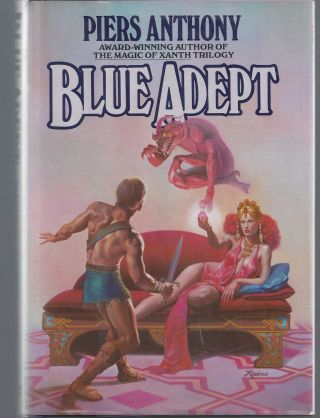 Blue Adept. Piers Anthony