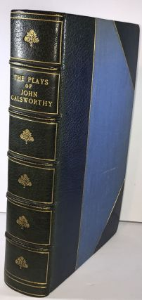 The Plays of John Galsworthy - Signed Binding by Sangorksi & Sutcliffe. John Galsworthy