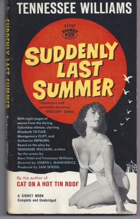 Suddenly Last Summer - Movie Tie-in. Tennessee Williams