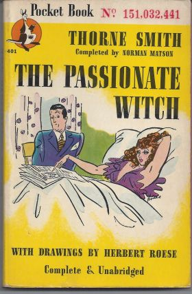 The Passionate Witch. Thorne Smith
