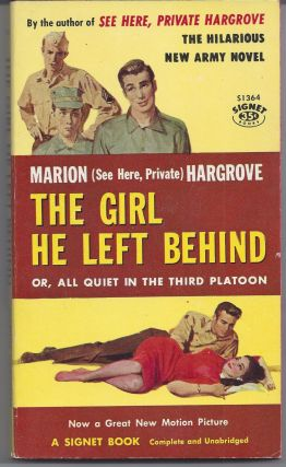 The Girl He Left Behind - Movie Tie-in. Marion Hargrove