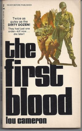 The First Blood. Lou Cameron