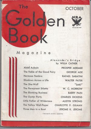The Golden Book: Volume XVIII - October1933. Dickens Cather, Sabatini