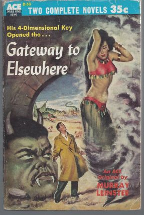 Gateway to Elsewhere / The Weapon Shops of Isher. Murray / A. E. Van Vogt Leinster