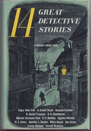 14 Great Detective Stories - Modern Library 144. Howard Haycraft