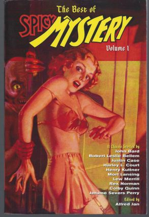 The Best of Spicy Mystery Volume 1. Jan Alfred, Editior