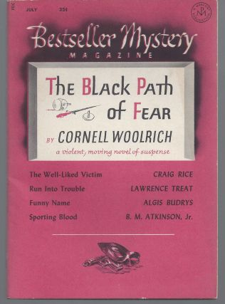 The Black Path of Fear (Bestseller Mystery Magazine #1). Cornel Woolrich