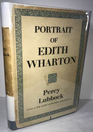 Portrait of Edith Wharton. Percy Lubbock