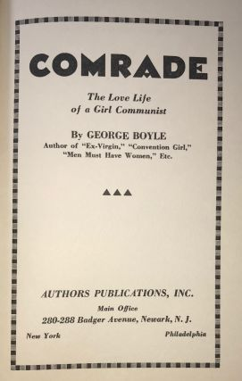 Comrade: The Love Life of A Girl Communist