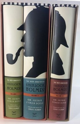 The New Annotated Sherlock Holmes: The Complete Short Stories (2 Vol. Set) and The Novels (1...